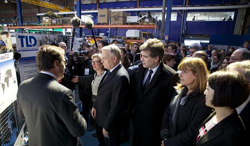 Jean-Marc Ayrault, Arnaud Montebourg, Anne Lauvergeon, Fleur Pellerin, Geneviève Fioraso