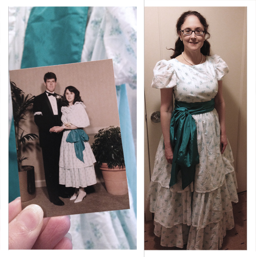 Then And Now: My Junior Prom Dress