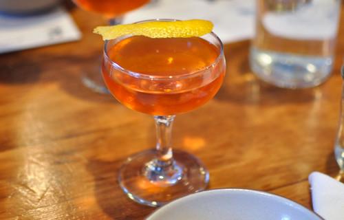 vice presidente cana brava rum, dolin blanc de fraise, maraschino, boston bittahs