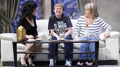 Lesley Joseph, Pauline Quirke and Linda Robson  in the new stage show of Birds of a Feather.
