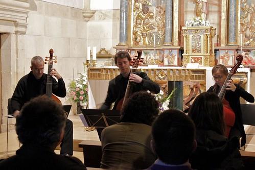 La Spagna Consort en la iglesia de Barrio de Barrio de Nuestra Señora