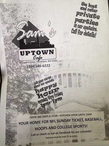 Sam's Uptown Cafe