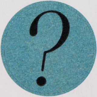Vintage Sticker question mark | by Leo Reynolds