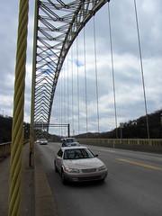 Traffic on the West End Bridge