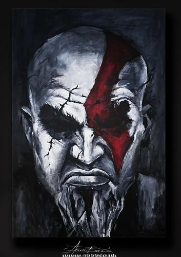ORIGINAL PORTRAIT PAINTING on canvas