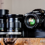 Minolta鏡頭轉接canon無限遠調整