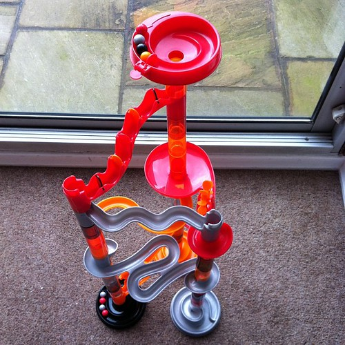 Most excellent marble run - only £2 from charity shop by nyssapod