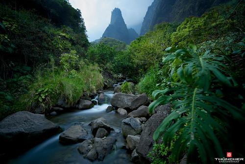 longexposure landscape hawaii nikon scenic maui le iaoneedle tropical fullframe fx nationalgeographic d800 wailuku nikond800 leebigstopper nikkor1635mmf4lens