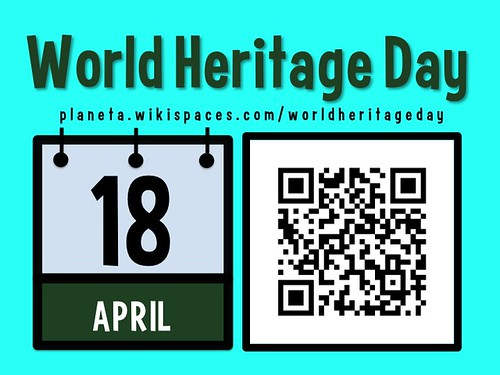 April 18 is World Heritage Day #worldheritageday @ICOMOS