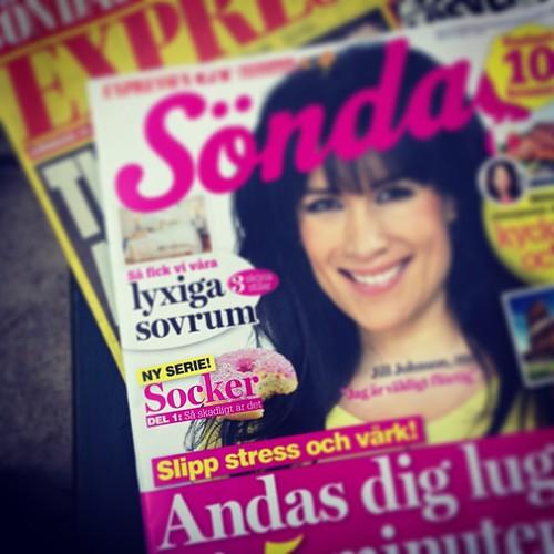 I dag premiär för en riktigt bra och intressant serie i Expressens söndagsbilaga om socker skriven av grymma frilansjournalisten Elin Gunnarsson. Missa inte detta!