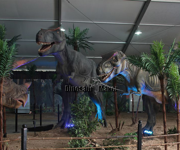 Robotic Dinosaur Exhibition in 2013