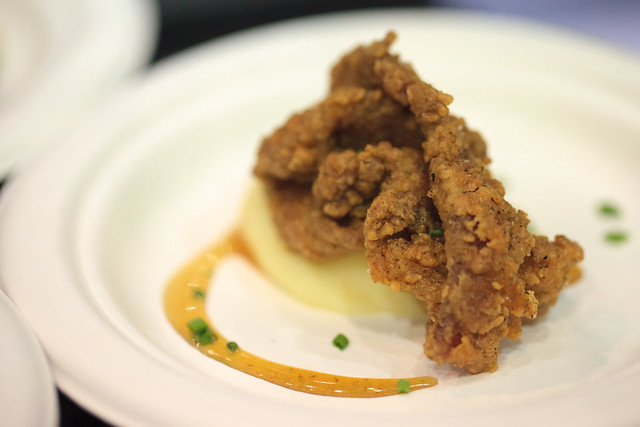 chicken fried bacon with bacon maple caramel - Wave - Baconfest 2013.jpg