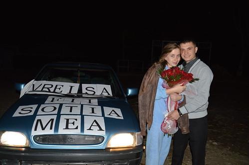 """Concurs """"Cea mai originala cerere în căsătorie!!!"""" > Oxana și  Denis"""