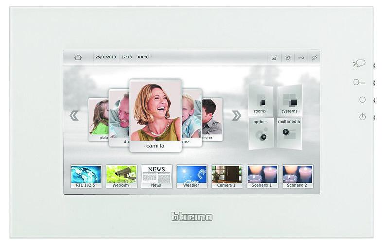 BTicino MyHome Screen 10 White