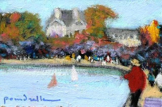 Jardin des tuileries paris le grand bassin poindrelle flickr photo sharing - Grand bassin de jardin ...