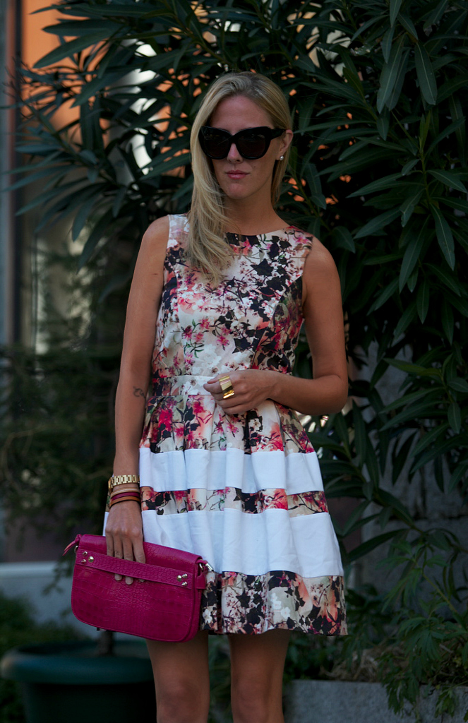 STYLE LOVER FLORAL DRESS VI