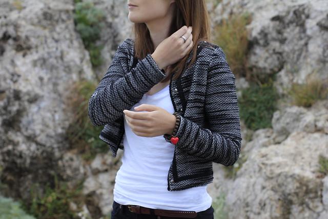 tweed bershka