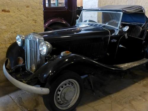 MG TD 1953 - Depósito del Automóvil, La Habana, Cuba