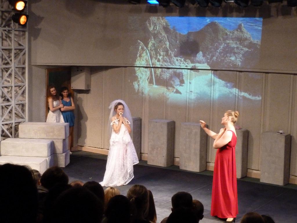 Дипломный спектакль Мамма Мия БГАИ 2013 - перед свадьбой