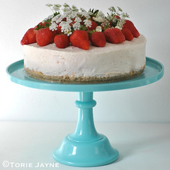 Gluten free Strawberry Cheesecake recipe