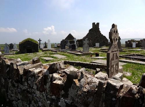 Gaelic cemetery