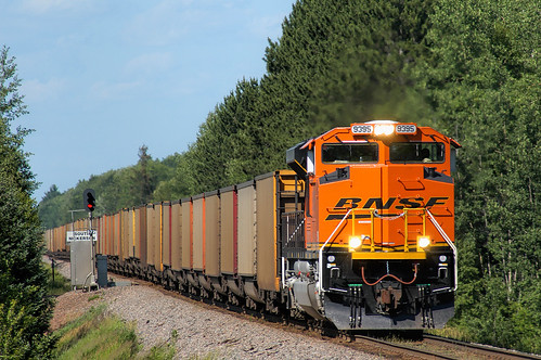 bnsf burlingtonnorthernsantafe hinkleysub bnsf9395 nickerson minnesota nickersonminnesota