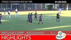 Virtus V. - Arzignano del 24-08-16
