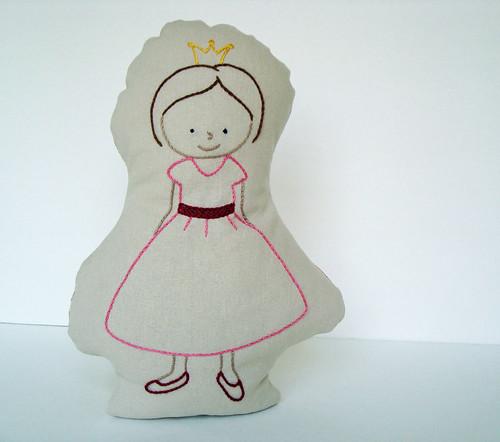Princess Pillow by ALittleWorld
