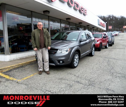 Congratulations to Theodore Gregory on the 2013 Dodge Journey by Monroeville Dodge