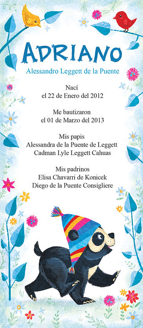 baptism announcment (capillo)
