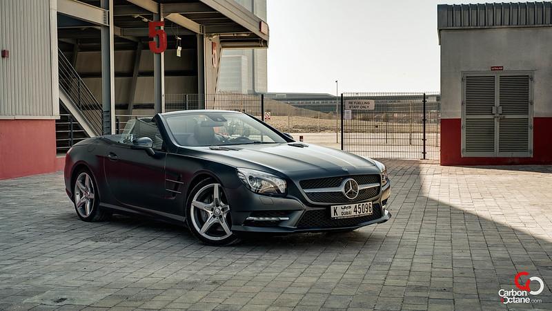 2013 Mercedes Benz SL500 front threequarter.jpg