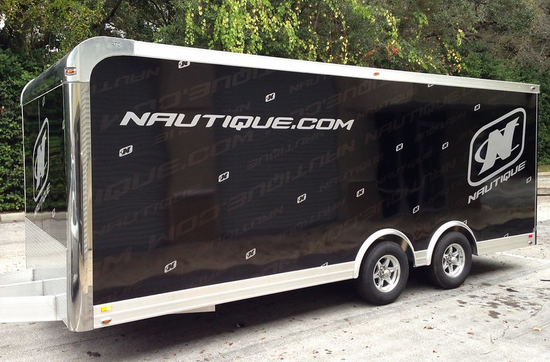 Trailer wrap graphics by TechnoSigns in Orlando