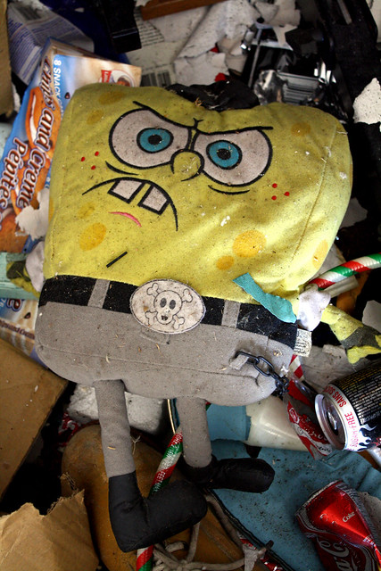 Spongebob carcass
