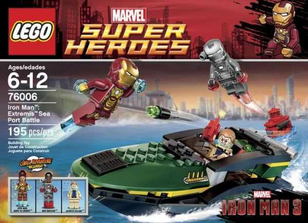 LEGO Super Heroes Marvel 76006 - Iron Man: Extremis Sea Port Battle