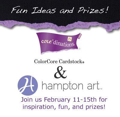 Hampton Art Coredinations Blog Hop One