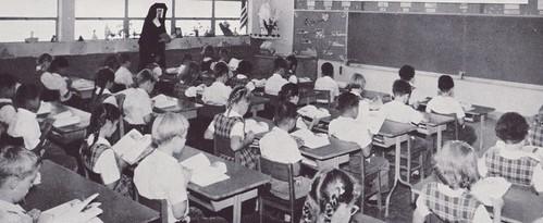 c.1958 Californian Classroom.