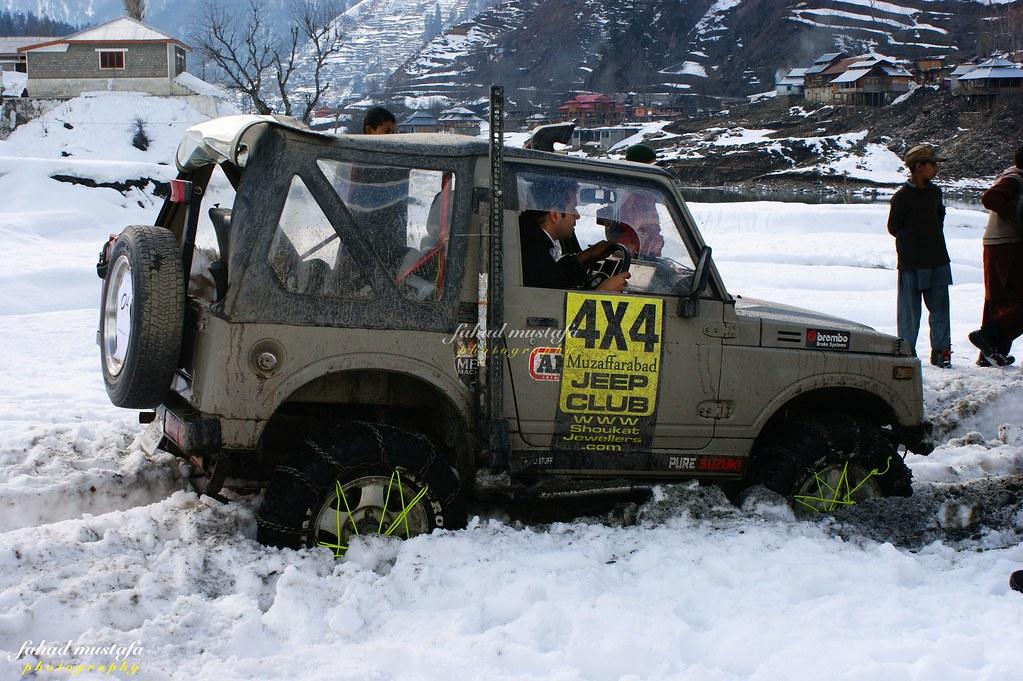 Muzaffarabad Jeep Club Neelum Snow Cross - 8471994184 469b5e8eb3 b