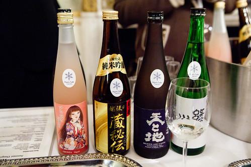 Kinshihai Sake Brewery and Kiminoi Shuzo's sakes