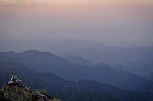 landscape dawn himalaya uttarakhand poboo