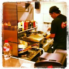 Hoy no cocino. Noodles take away :-)