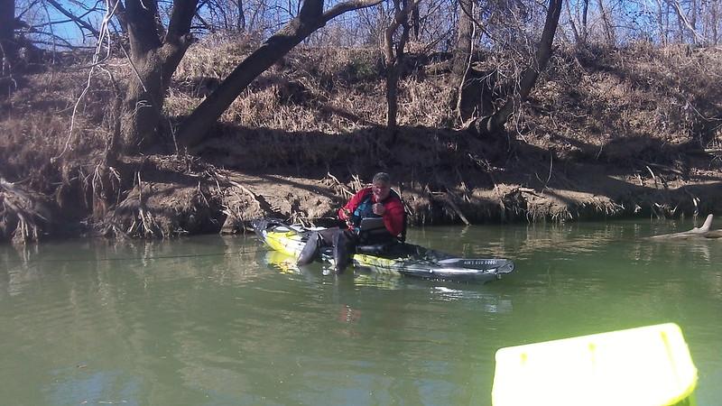 Creek run 2 17 13 kayak fishing texas fishing forum for 13 fishing tx