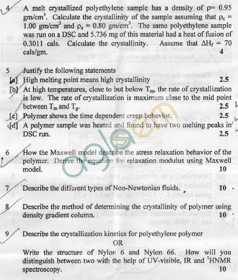 DTU Question Papers 2011 - 3 Semester - End Sem - PT-203