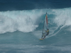 Ho'okipa wind surfing.  Alden Cornell Molokai Hawaii
