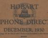 1930 directory