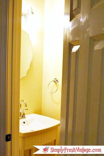 Mudroom Half Bath ... SimplyFreshVintage.com