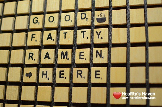 Wrong Ramen Scrabble Decor