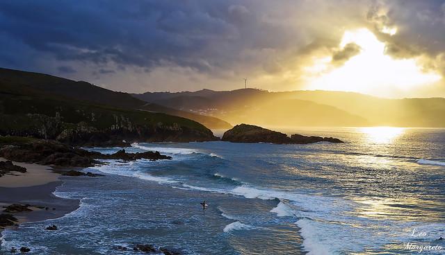 La cálida caricia del sol.../The warm caress of the sun...