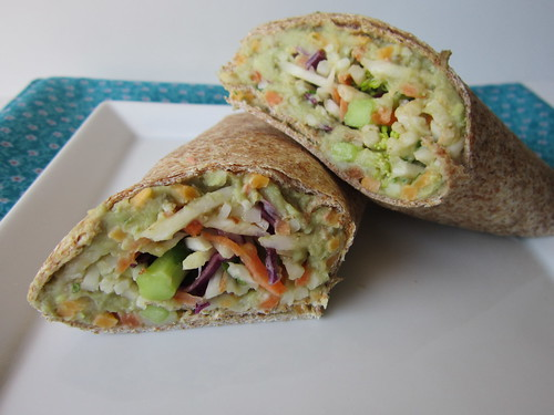 White Bean & Avocado Wrap