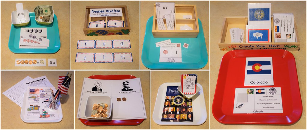 Presidents' Week Trays