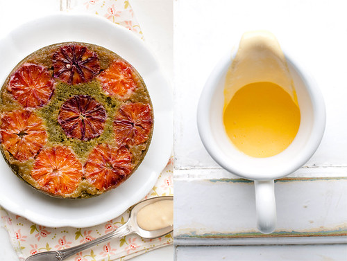 Tarte Tatin Cake with Matcha and Blood orange 6